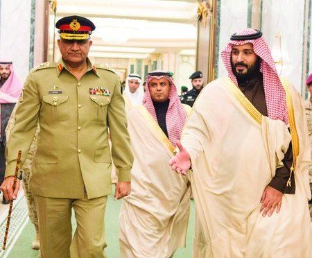 Заместитель наследного принца обсудил вопросы двустороннего сотрудничества с главнокомандующим армией Пакистана