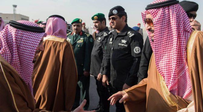 Служитель Двух Святынь прибыл в Эр-Рияд из Кувейта