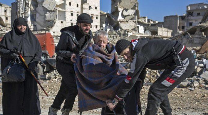 Королевство подчёркивает важность неотложных действий для того  чтобы остановить массовые убийства в сирийском городе Алеппо