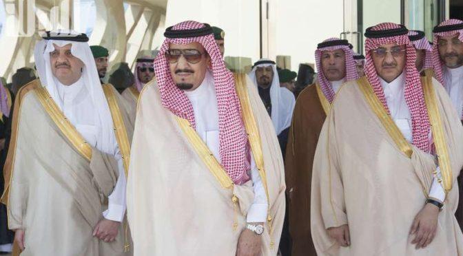 Служитель Двух Святынь открыл ряд проектов нефтяного гиганта компании АРАМКО, а также Международный культурный центр им.Короля Абдулазиза в Захране