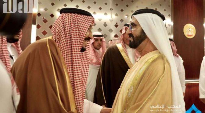 Служитель Двух Святынь прибыл в Абу-Даби