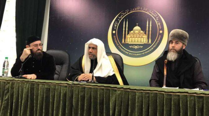 Глава республики и учёные Чечни: Грозненская конференция не проводилась для того чтобы кого-либо оскорбить.. все должным образом  ценят  правителей Саудии и её учёных