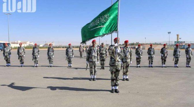 Командующий силами спецназа инспектировал своих подчинённых в вади Давасир