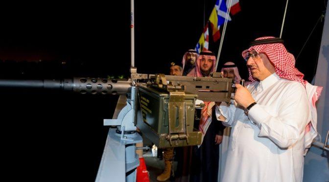 Наследный принц похвалил военнослужащих Пограничных войск, прилагающих усилия к обучению сотрудников на высоком уровне
