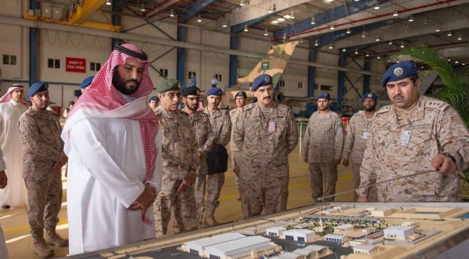 Заместитель наследного принца инспектировал программу модернизации истребителя «Торнадо» в Саудии