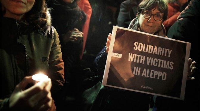 Мир солидарен с Алеппо