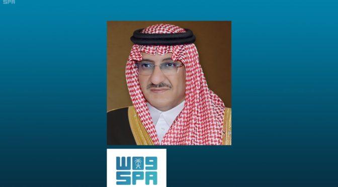 Его Высочество наследный принц посетил Мечеть Пророка