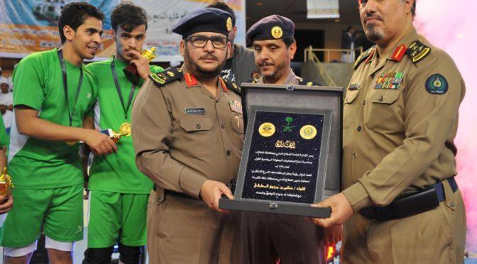 Завершился первый спортивный чемпионат среди сотрудников Гражданской обороны в Таифе