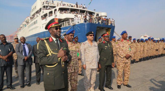 Начались совместные морские саудийско-суданские учения «Небо 2»