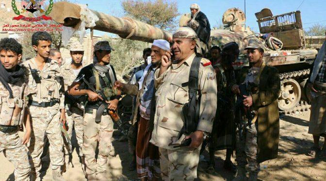 Победы Йеменской армии в битве за освобождение провинции Саада