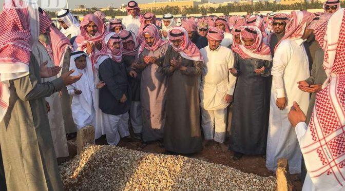 Министр национальной гвардии возглавил похоронную молитву по поэту ар-Рашиди