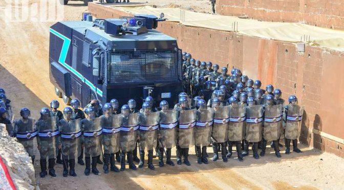Силы спецназа в Хафра Батин