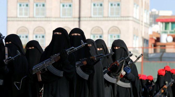 Хусииты рекрутируют  женщин Йемена, дабы они воевали вместе с ними