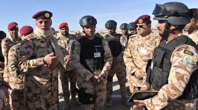 Командующий силами спецназа инспектировал подразделения, участвующих в комплексных учениях «Отечество 87»