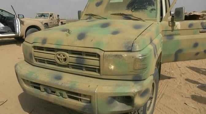 В Миди уничтожено 7 хусиитов, 4 хусиитов захвачено в плен, их автомобили повреждены и взяты в качестве трофеев