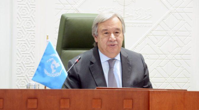 Служитель Двух Святынь принял генерального секретаря ООН