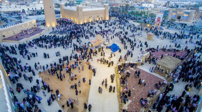 Различные массовые мероприятия фестиваля «Джанадирия» приняли уже более 900 тыс.посетителей