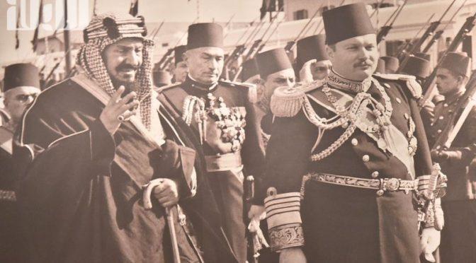 Как встречал Египет и его правитель Король Фарук Короля Абдулазиза 71 год назад?
