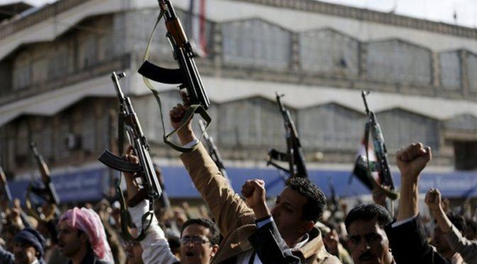 Свидетельство того как хусииты фабрикуют видеоролики, выдавая их за заснятые в провинции Джазан