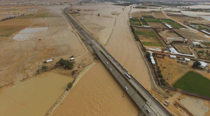 Дожди и селевые потоки в административном центре Далам потребовили мобилизовать экстренные службы