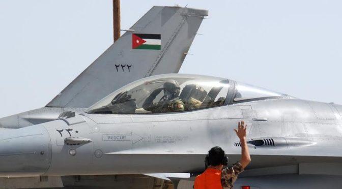 Иорданский пилот спасён после падения военного самолёта в Наджране