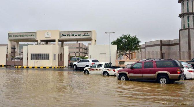 Проливные дожди в Асире