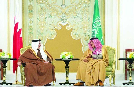 Его Высочество наследный принц провёл официальные переговоры с наследным принцем Королевства Бахрейн
