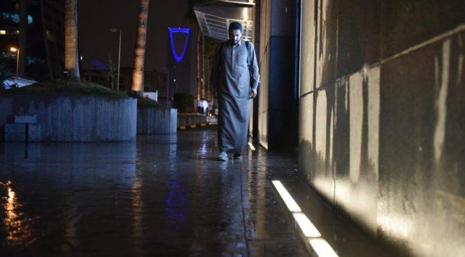 Дожди накрыли Эр-Рияд