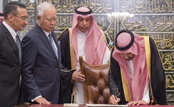 Служитель Двух Святынь провёл переговоры с Его честью премьер-министром Малайзии