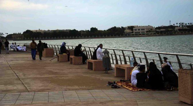 Атмосфера Джидды: тучи и море