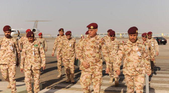 Командующий  спецназом сил безопасности выразил соболезнования семье мл.серж.аль-Джухни