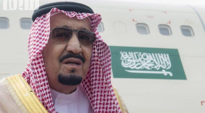 Служитель Двух Святынь прибыл в Эр-Рияд, направляясь из Хашимитского Королевства Иордания