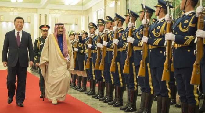 Председатель КНР принял Служителя Двух Святынь