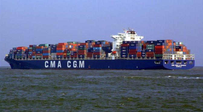 Исламский порт в Джидде принял первый  контенеровоз международной  судоходной компании CMA CGM Group