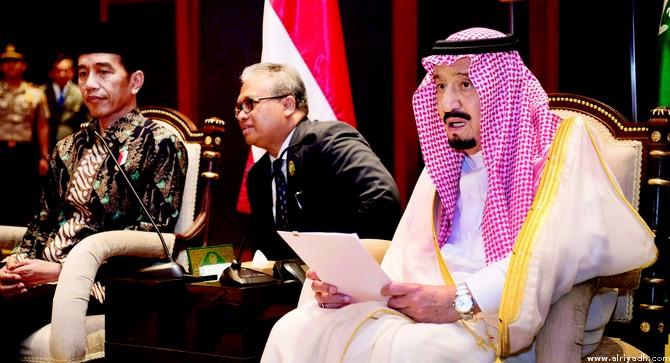 Служитель Двух Святынь принял вице-президента республики Индонезия