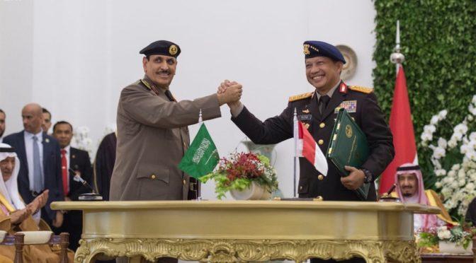 Подписаны совместное заявление и меморандумы о взаимпонимании между Королевством и Индонезией