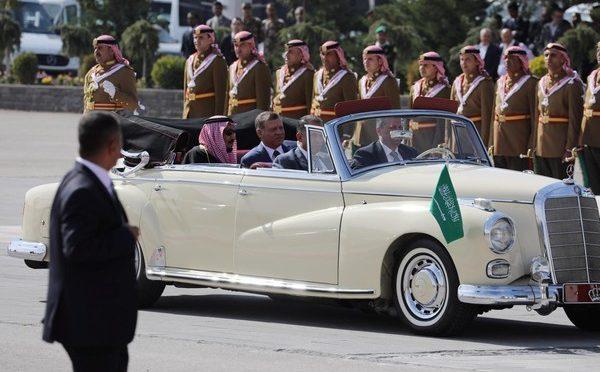 Служитель Двух Святынь прибыл в г.Амман с официальным визитом в Иорданию