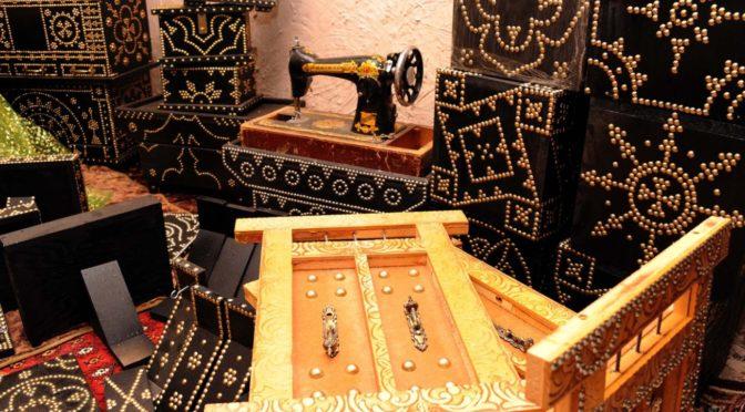 Изготовление деревянных  сундуков — традиционный промысел на 5-ом  фестивале Восточного побережья