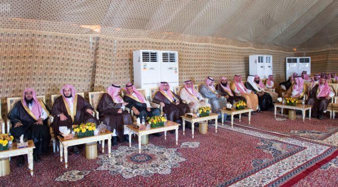 Служитель Двух Святынь принял представителей администрации, начальников государственных учреждений, глав сельских администраций  округа Рамах, а также группу жителей округа