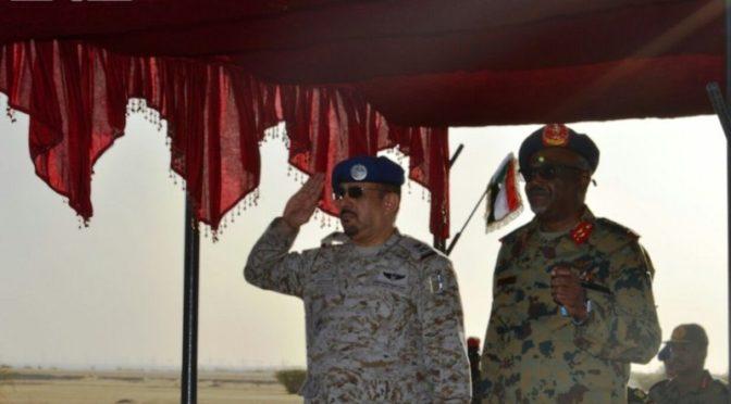 Президент Судана У.Башир наградил офицеров,  участвовавших в учениях «Голубой щит 1» орденами заслуг