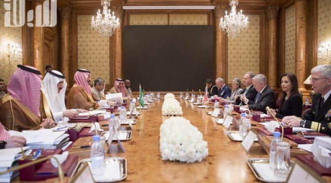Его Высочество наследный принц встретился с министром обороны США