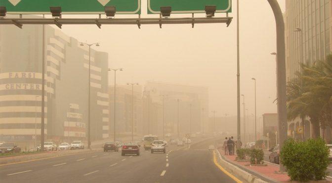 Пыль накрыла Джидду
