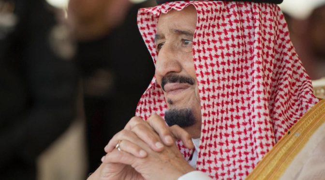 Король Салман почтил своим визитом церемонию закрытия Фестиваля верблюдов им.Короля Абдулазиза