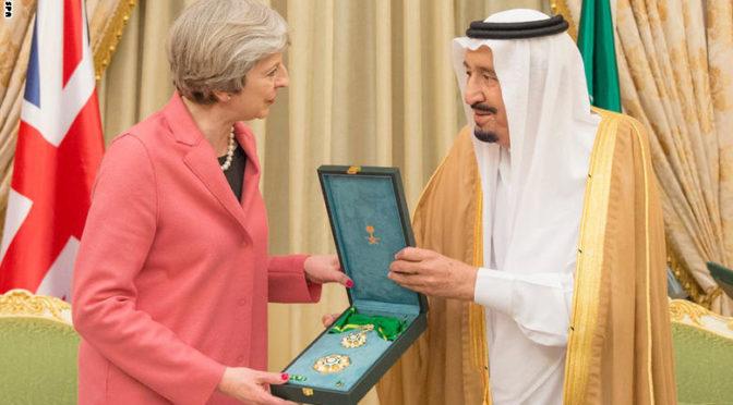 Король Салман и премьер-министр Британии Т.Мэй провели двусторонние переговоры