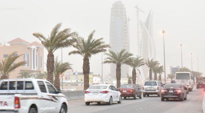 Пылевой туман накрыл Эр-Рияд