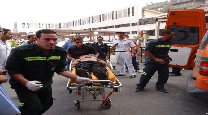 Королевство осуждает взрывы в церквях в Танта и Александрии