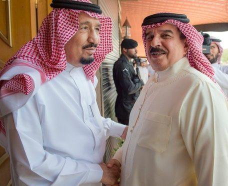 Служитель Двух Святынь принял Короля Бахрейна и представителей правительств государств-членов Совета сотрудничества арабских государств Арабского залива