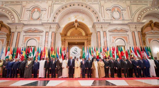 """Король Салман сказал на арабо-американском исламском саммите: """"Мы 300 лет не знали о террроризме, покуда не  произошла революция Хомейни"""""""