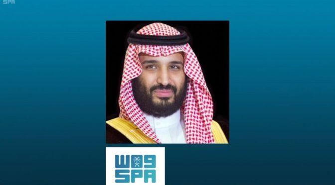 Заместитель наследного принца принял премьер-министра республики Ирак