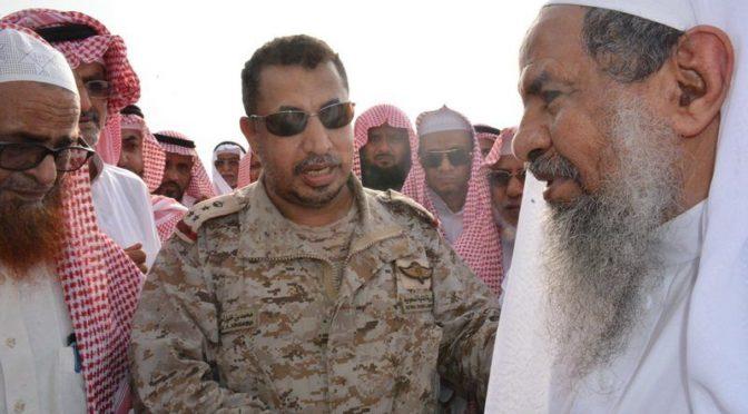 Жители округа Тувал скорбят по майору Абдаллаху аль-Амари, да помилует его Аллах